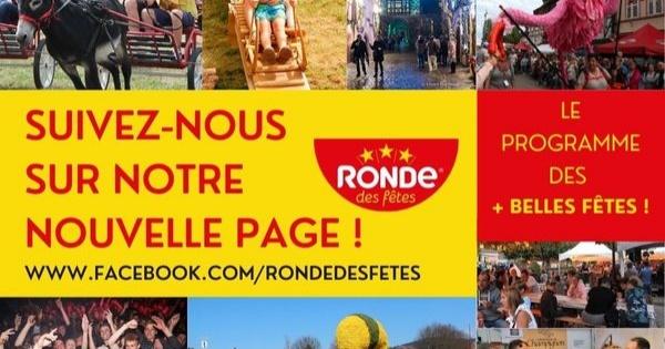 La Ronde des fêtes change de page Facebook !