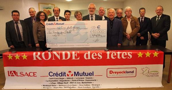Signature de la convention de partenariat avec le Crédit Mutuel 2017