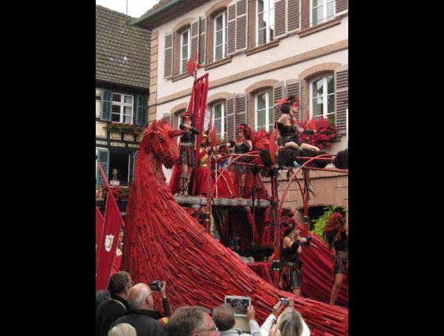 2015. Rathaus Ribeauvillé's Bildern - Catherine Kuehn